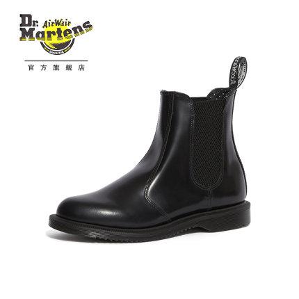 Giày nữ trào lưu Hot  Giày da bóng cao của Dr.Martens Giày cao gót đế xuồng dành cho nữ
