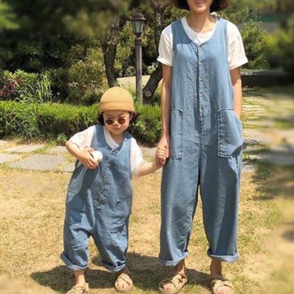 JXJE Áo thun gia đình Mùa hè 2020 phiên bản Hàn Quốc của gia đình bùng nổ trang phục phụ huynh-trẻ e