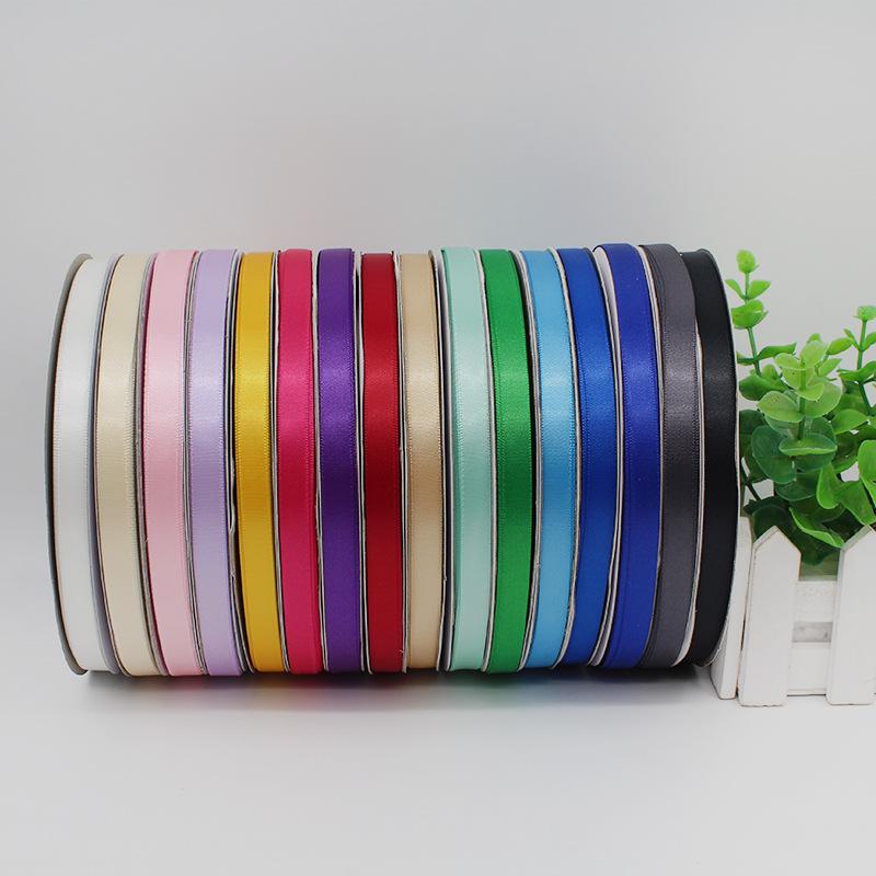 FENGFAN đai dệt Vải polyester 1cm tại chỗ 3 điểm cao mã hóa satin ruy băng nhà máy bán hàng trực tiế