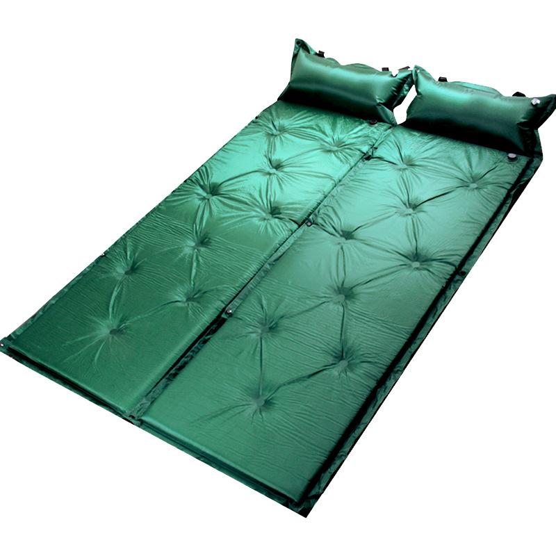 Giường đơn bơm hơi tự động dã ngoại ngoài trời .