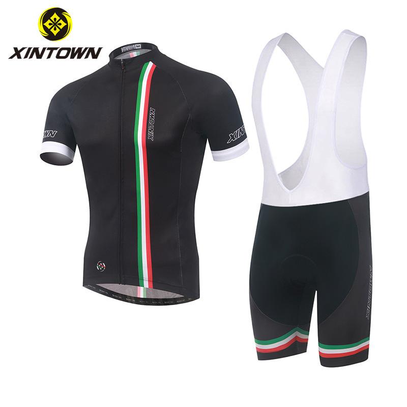 XINTOWN Trang phục xe đạp Mới đi xe đạp đeo dây đeo tay ngắn phù hợp với xe đạp phù hợp với nam mùa