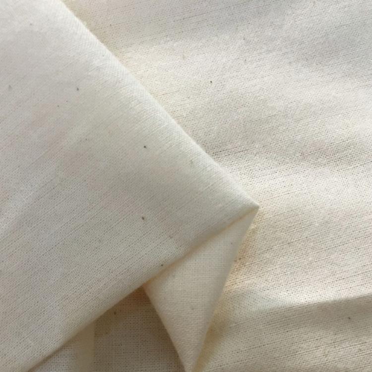 TIANXING Vải Cotton mộc Vải dệt thoi 32S 68 * 68 * 63 vải dệt trơn ủi khăn trải bàn quần túi vải thắ