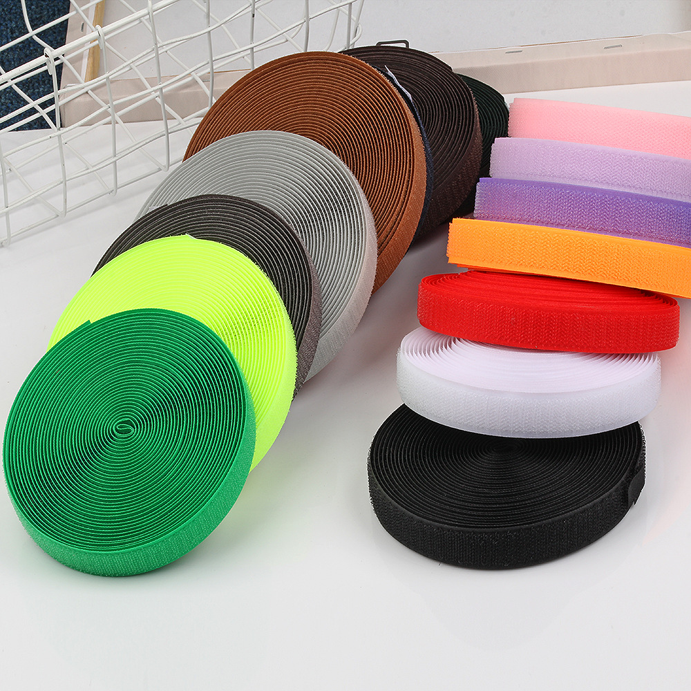 DILI Khoá dán Màu sắc pha trộn 2cm Velcro Velcro 2 cm không có keo khóa Velcro