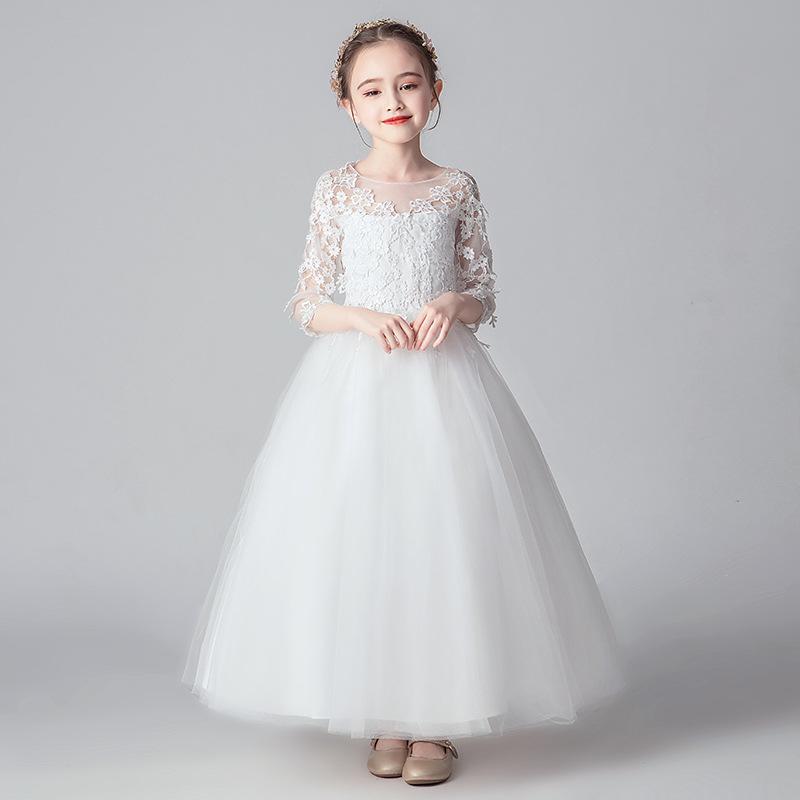 KQNN Trang phục dạ hôi trẻ em Váy trẻ em váy công chúa váy cô gái váy pettiskirt hoa cô gái váy váy