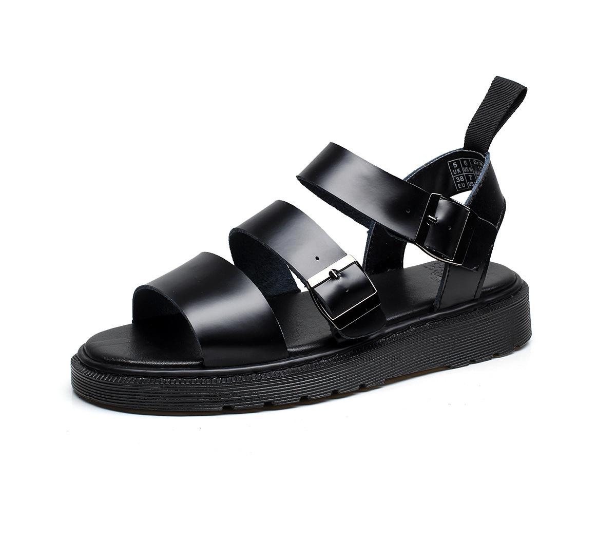 Giày dép sandal chất liệu da chống trượt .