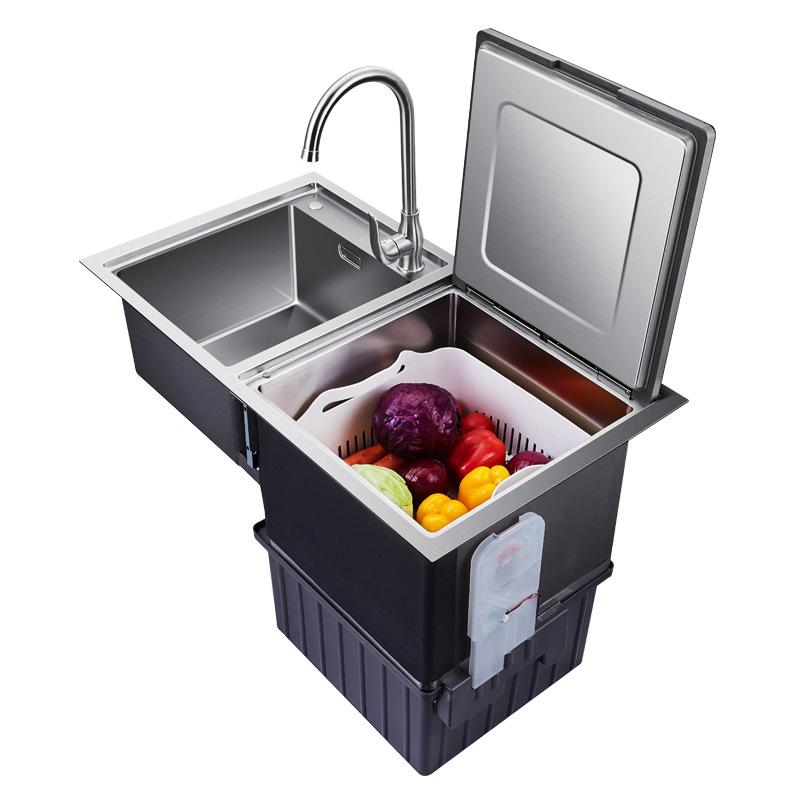 Máy rửa chén với bồn rửa chén lớn, thông minh, kiểu bàn ăn tự động cao nhiệt độ khử trùng và máy rửa