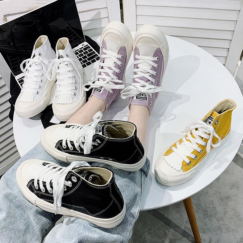 Giày Sneaker / Giày trượt ván 2020 phong cách cổ tích mới của Hàn Quốc thích hợp Hồng Kông cơ sở ret