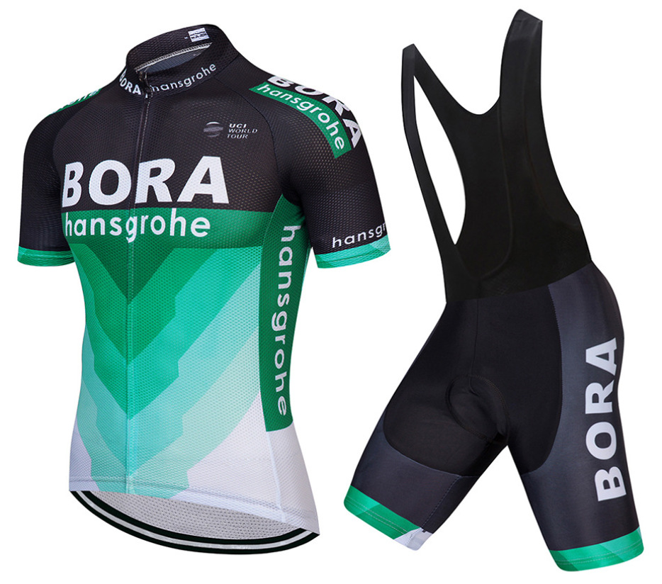 Trang phục xe đạp Xuyên biên giới dành riêng cho BORA treo tay ngắn phù hợp với bộ đồ mùa hè xe đạp