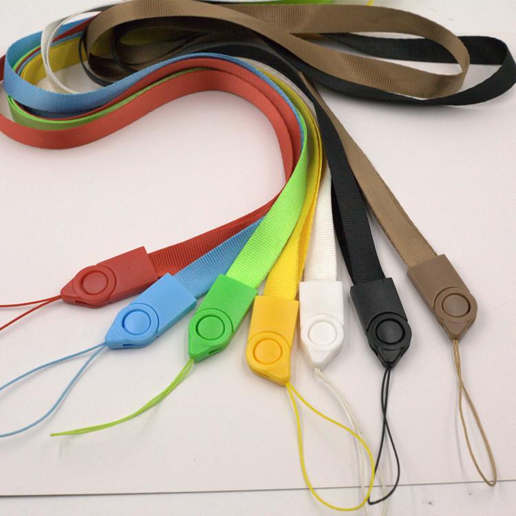 WEINING dây đeo Nhà sản xuất tùy chỉnh truyền nhiệt điện thoại di động dây buộc giấy chứng nhận slin