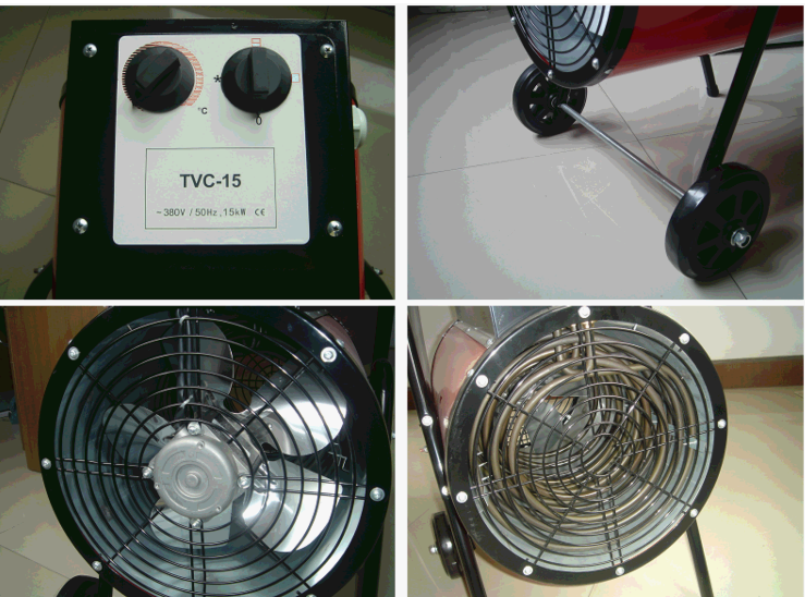 TVC-15 Industrial heater