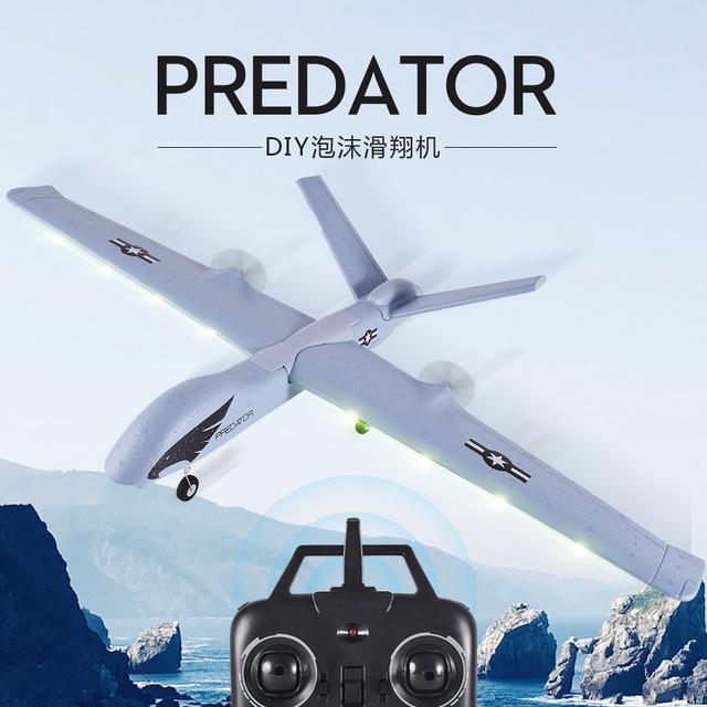 Máy bay điều khiển từ xa Z51 UAV LED cố định cánh máy bay điều khiển từ xa Máy bay ném bọt tàu lượn