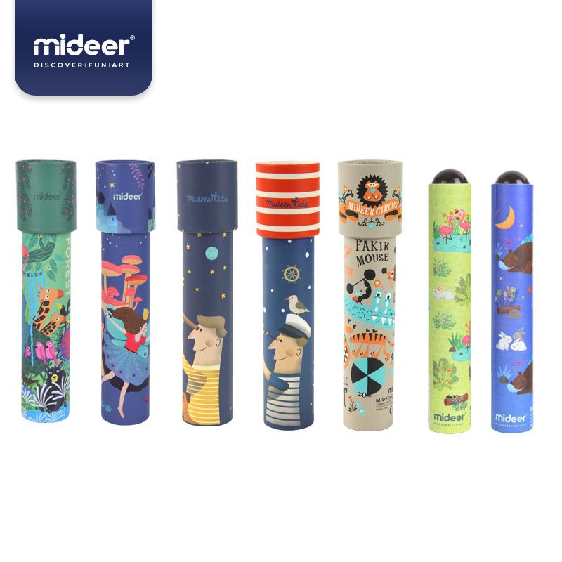 Mideer Đồ chơi sáng tạo Lớn kính vạn hoa tự làm tùy chỉnh giấy xoay trẻ em sáng tạo đồ chơi giáo dục