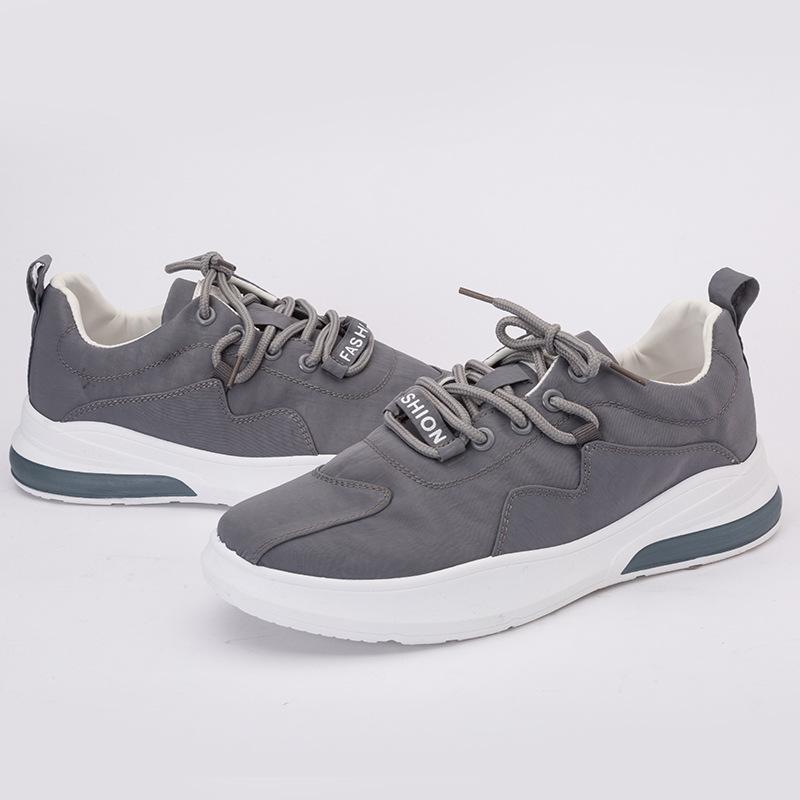 Giày thể thao da lộn thoáng khí giày nam .