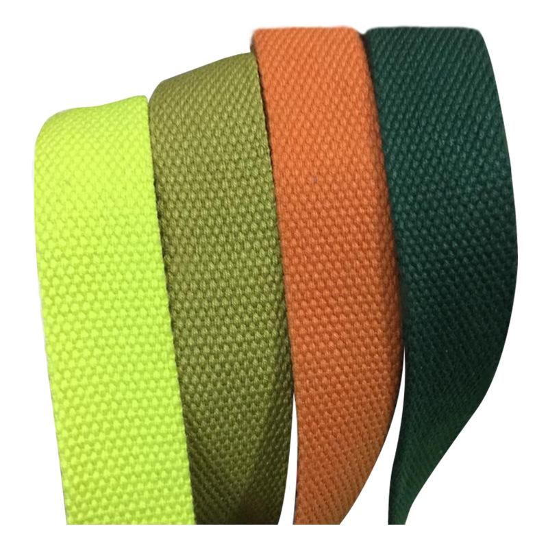 JM đai dệt Chất liệu cotton dày màu polyester dày vải bảo vệ môi trường SP sợi bông cotton dệt vải v