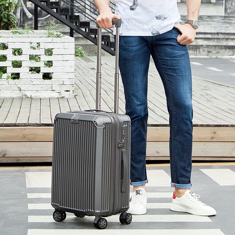Vali Hành lý có bánh xe đẩy phổ biến kiểu dáng thời trang .
