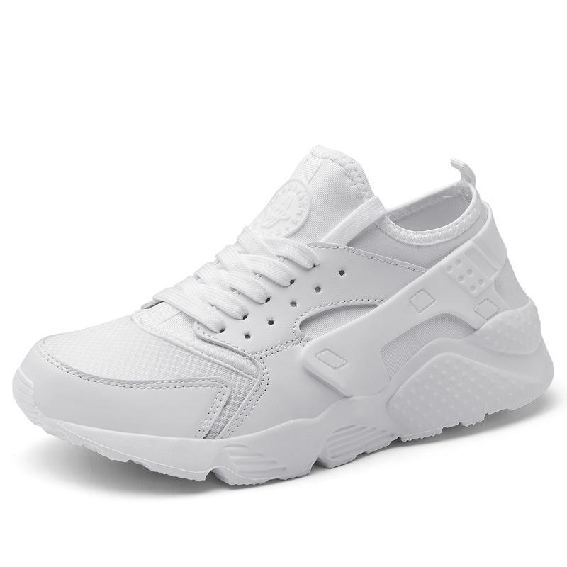 Giày thể thao màu trắng phiên bản Hàn Quốc