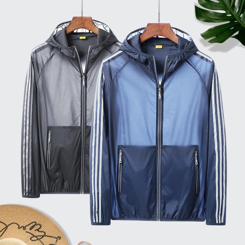 Đồ chống nắng mau khô Áo chống nắng quần áo đôi mẫu siêu mỏng thoáng khí áo khoác cặp đôi quần áo nh