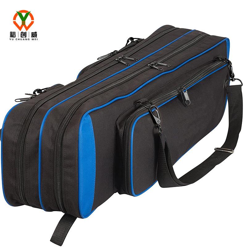 Túi xách đựng <font color='red'>cần câu cá</font> túi ba lớp hình chữ nhật