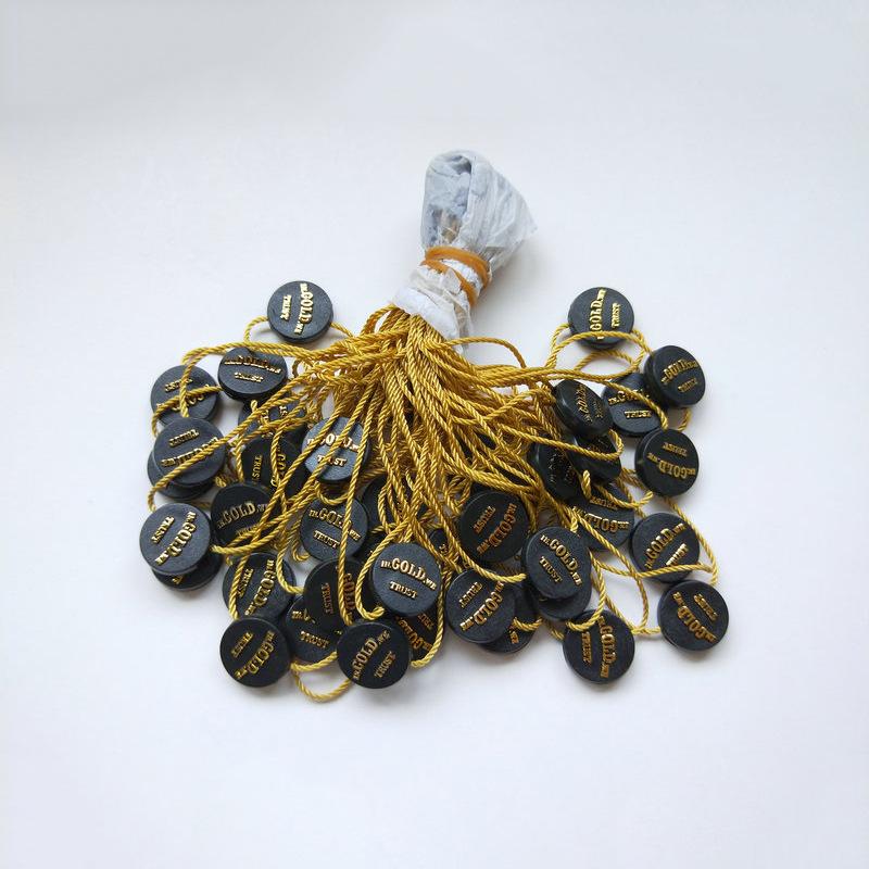 MINGHUA Chuỗi tag , Tag logo Phổ điểm tại chỗ hạt treo Sản xuất tùy chỉnh của ruy băng thả keo treo