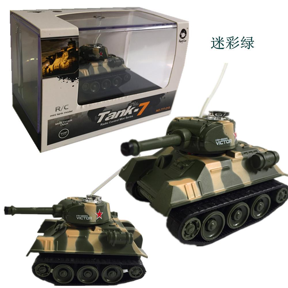 XIANNIU Xe điều khiển từ xa Mini điều khiển xe tăng mô phỏng bốn chiều không dây sạc trẻ em điều khi