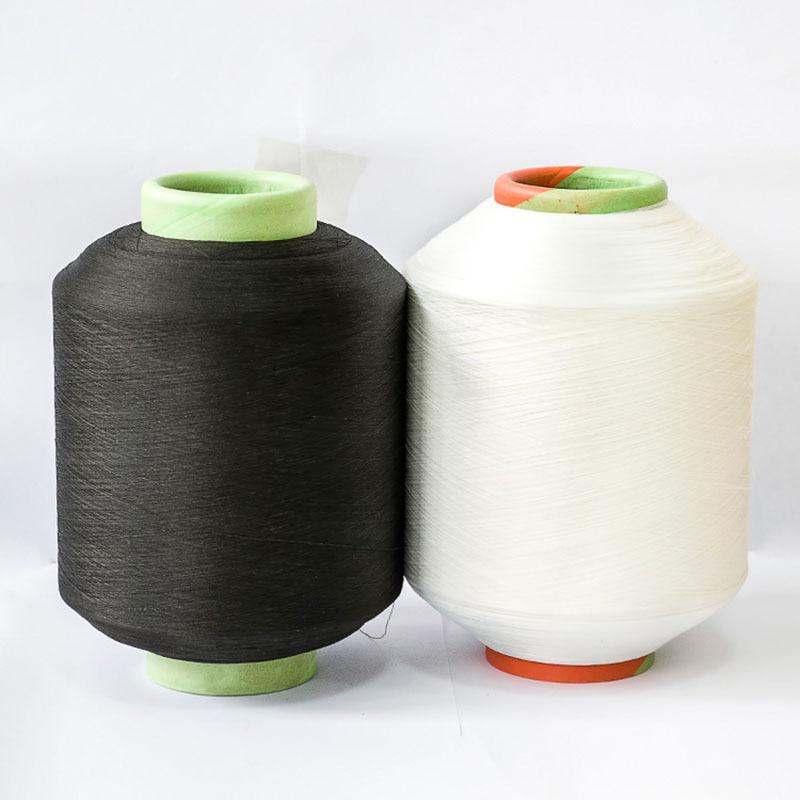 Sợi hoá học Sợi polyester có độ đàn hồi cao Sợi polyester đàn hồi Sợi dệt mềm chống đóng cọc