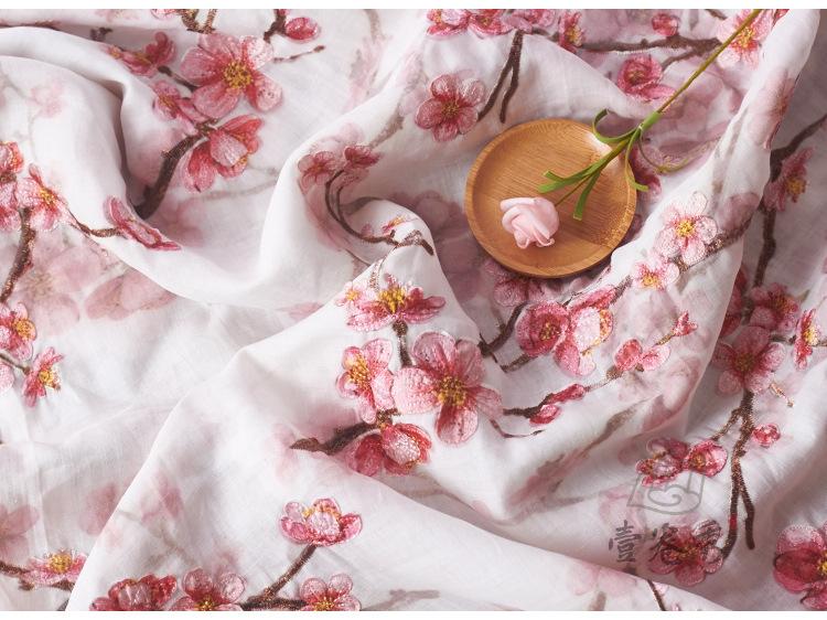 In in Ramirez vải thêu của văn học và nghệ thuật quốc gia kiểu Ba chiều của Trung Hoa Hoa Hoa Hoa, b