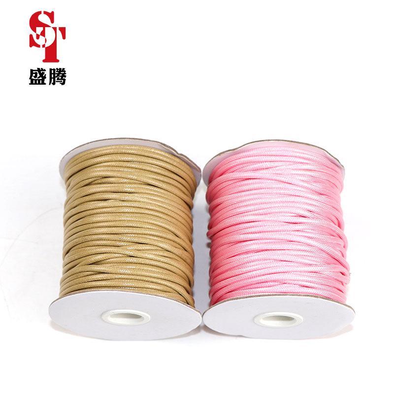 SHENGTENG đai , dây , chỉ Nhà máy trực tiếp Hàn Quốc sáp dây đai sáp dây sáp tự làm màu sáp dệt tay