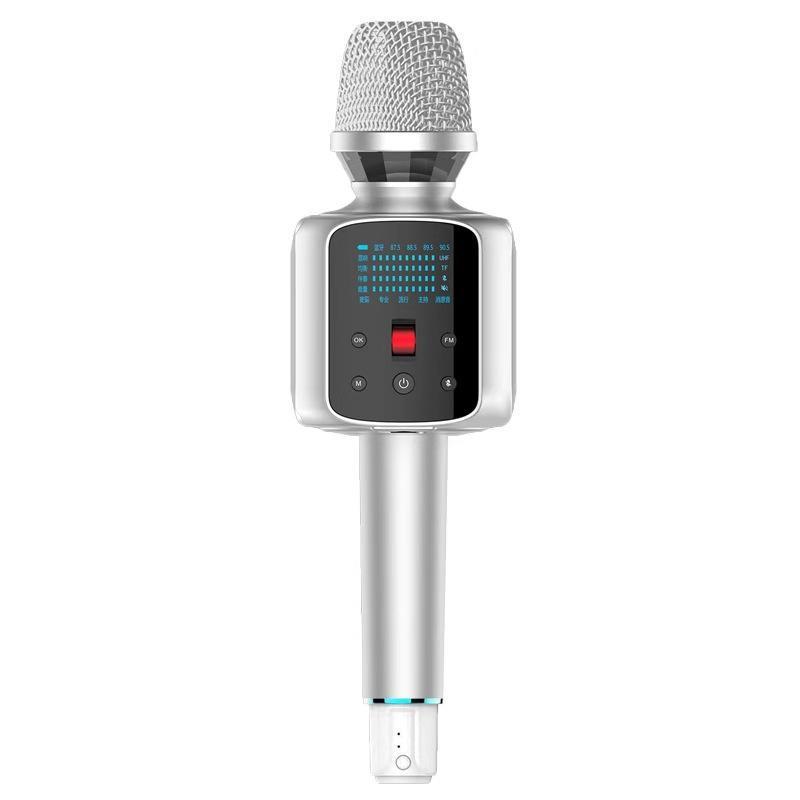 [Mới] microphone toả sáng với bộ trình bày đồ pha lê âm thanh.