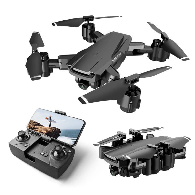 HR Flycam 4K chụp ảnh trên không gấp UAV H3GPS định vị máy bay bốn trục máy bay điều khiển từ xa siê