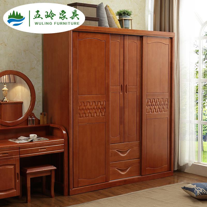 Tủ quần áo bằng gỗ Nội thất Nankang