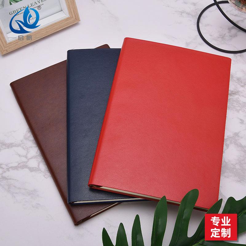 QIFAN Đồ dùng văn phòng Nhà sản xuất tùy chỉnh a5 doanh nghiệp notepad làm việc máy tính xách tay da