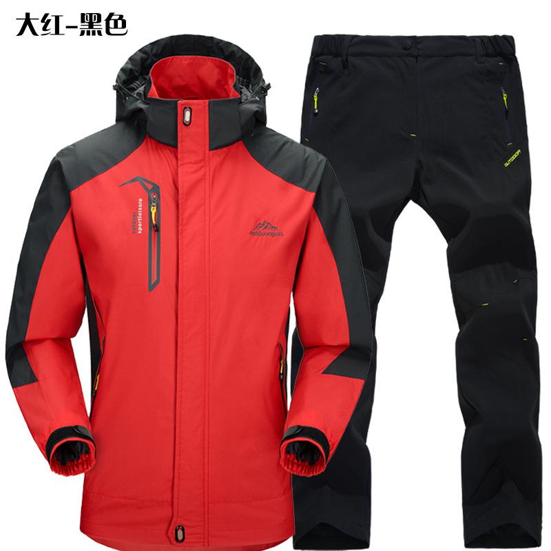 KAISHIKA Quần áo leo núi Nhà máy trực tiếp bán buôn bộ đồ tấn công ngoài trời một lớp phù hợp với na