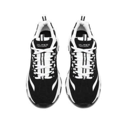Skechers thị trường giày nam Skechers đôi giày nam dày dưới chân cha ngoài trời giày gấu trúc giày t