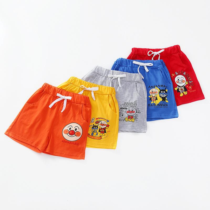 BEIBEIGU Quần trẻ em Mùa hè 2020 quần trẻ em, cotton tinh khiết thể thao Hàn Quốc và quần short nam