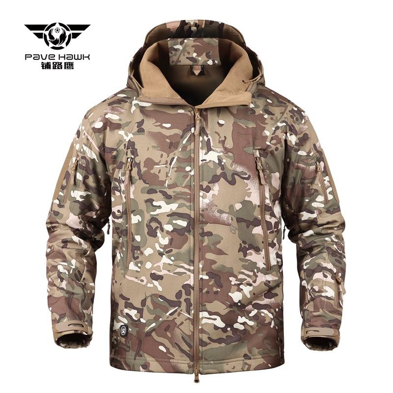 PULUYING Lót nỉ Soflshell Nhà máy trực tiếp bán TAD áo khoác vỏ mềm Vỏ mềm V4.0 thế hệ thứ tư lông c