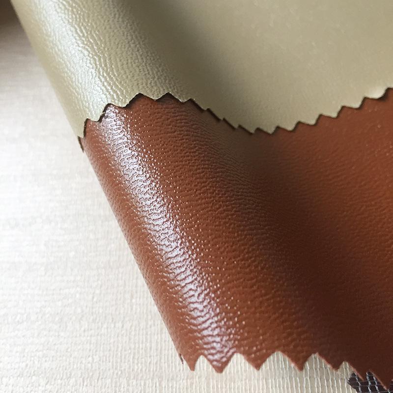 Baojin Da dê da cừu mẫu mỹ phẩm túi hành lý giày da túi xách lưu trữ bao bì dải lửa PVC vải da nhân