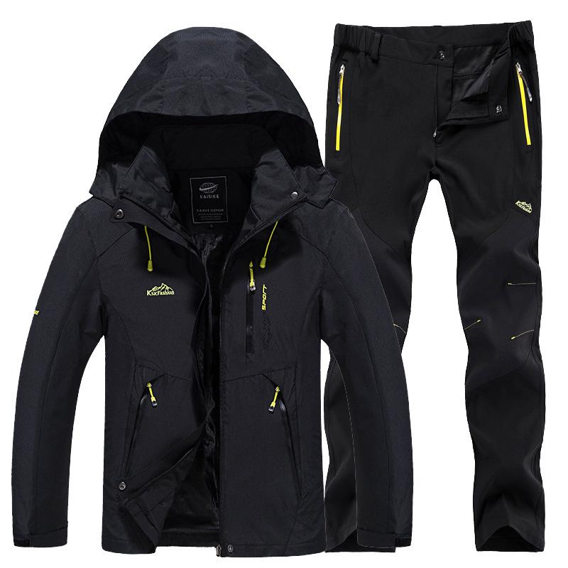 TANYANJI Quần áo leo núi Áo khoác ngoài trời nam mùa xuân và mùa thu áo khoác mỏng một lớp phù hợp v