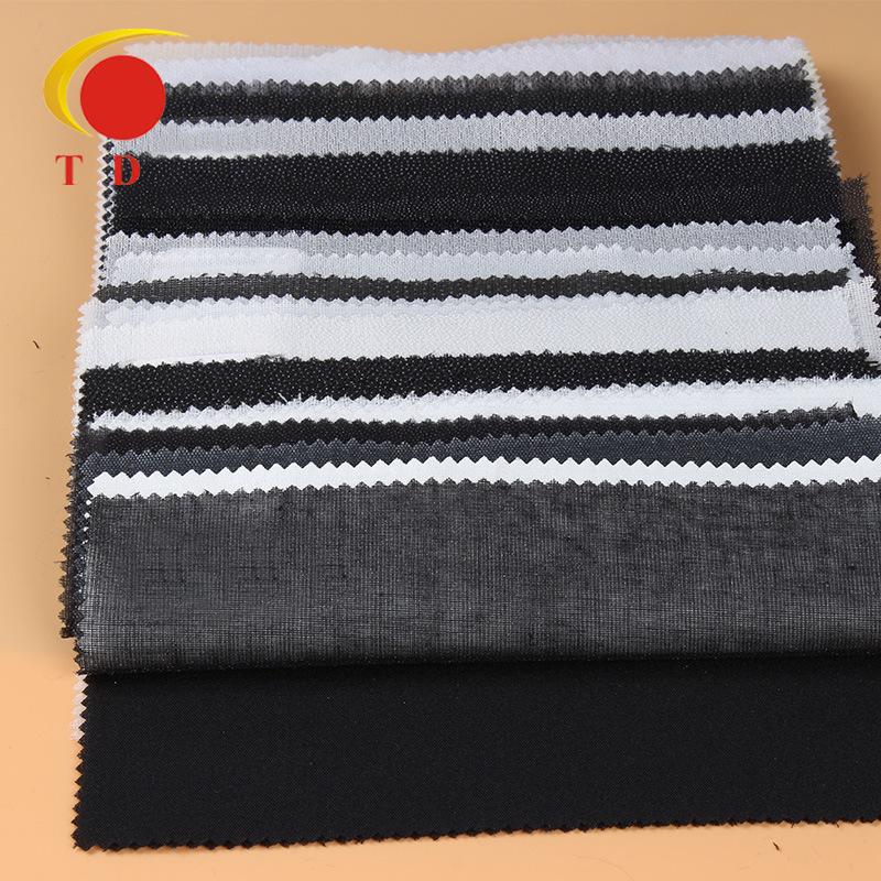 TD Vải lót Nhà sản xuất cung cấp vải không dệt nhẹ, quần áo mới, dán xen kẽ, phụ kiện quần áo bán bu