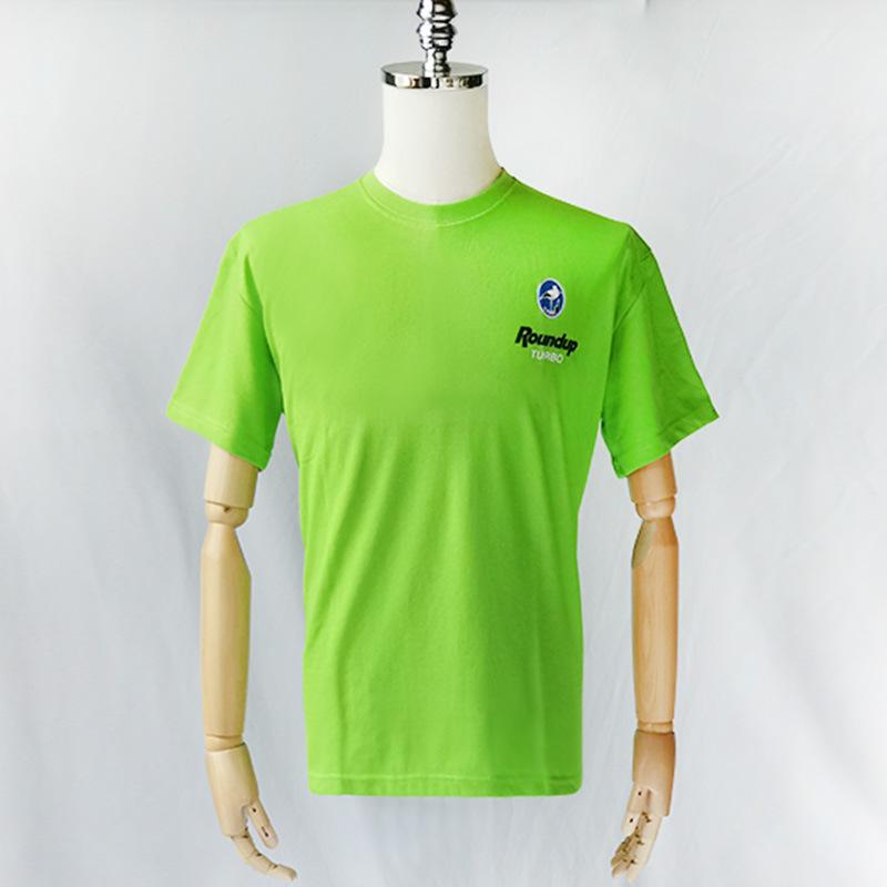 HS Áo thun Mùa hè áo thun nam ngắn tay tùy chỉnh logo sự kiện quảng cáo quần áo in cổ tròn