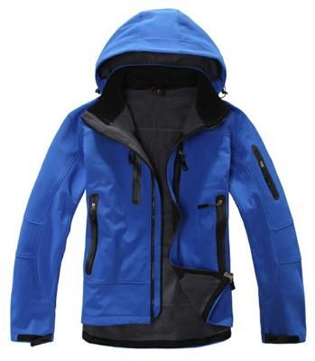 Lót nỉ Soflshell Nhà máy bán buôn trực tiếp bán ngoài trời vỏ mềm quần áo lông cừu nam ngoài trời áo