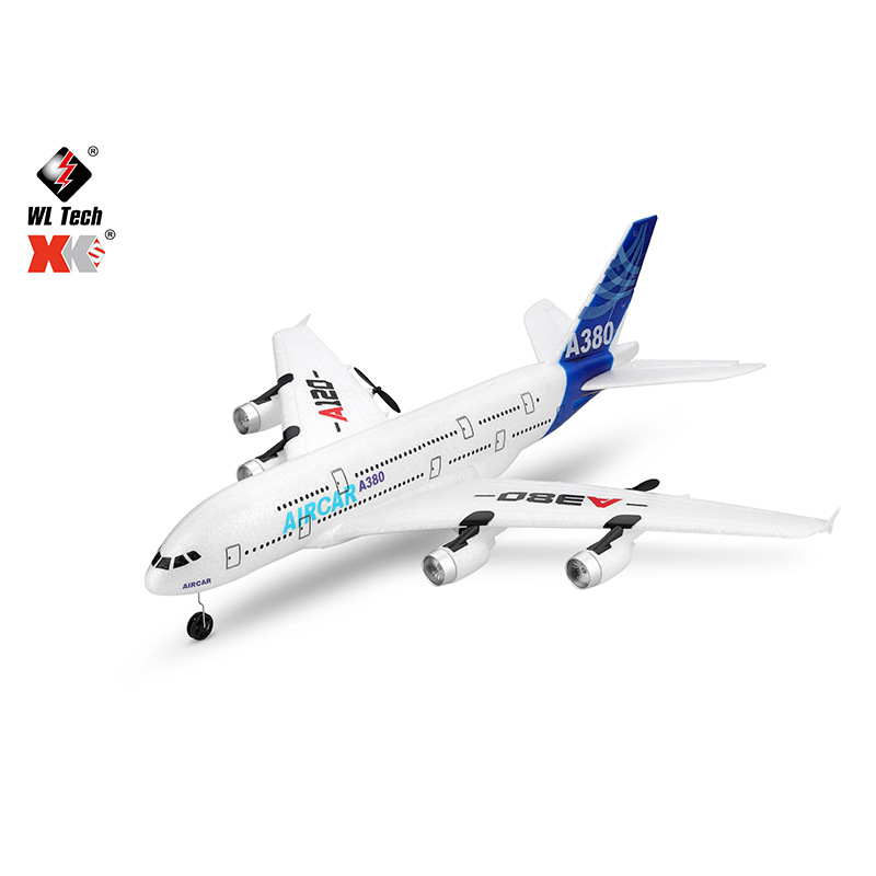 XK Máy bay điều khiển từ xa Weili XK sản phẩm mới A120 Airbus A380 ba kênh giống như tàu lượn thực s