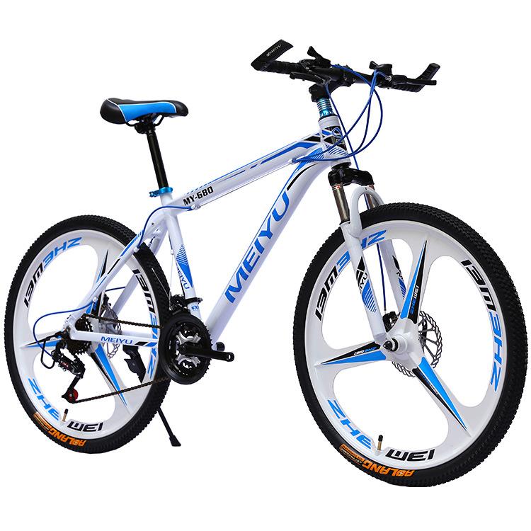 MEIYU Hợp kim mới xe đạp leo núi 30/21 tốc độ phanh đĩa kép 26 inch 24 inch nam và nữ sinh viên biến