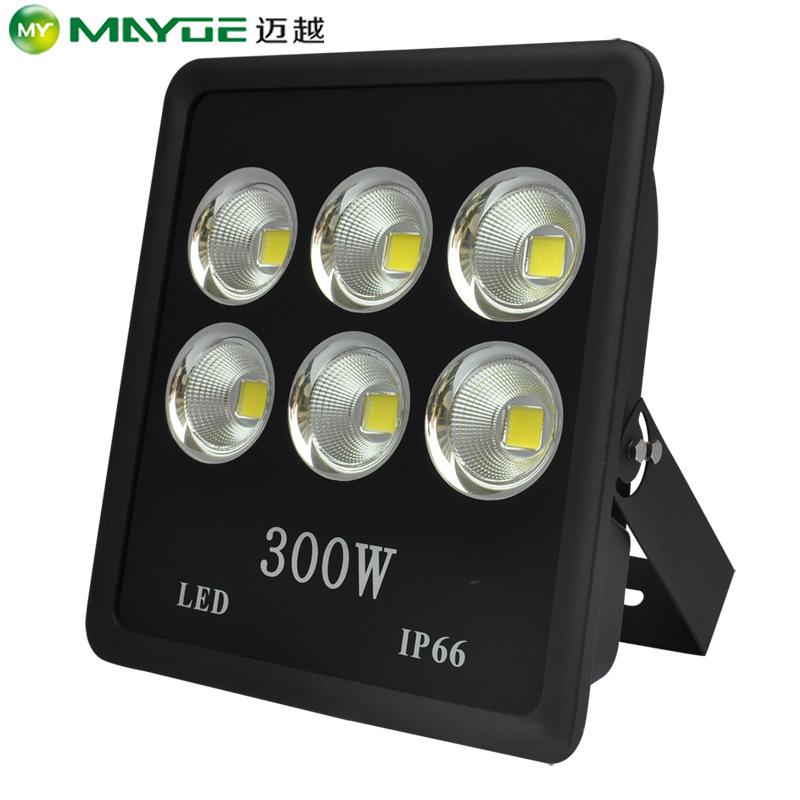 Thiết bị chiếu sáng Nhà máy sản xuất đèn lũ dọc 300W bán trực tiếp ánh sáng chiếu mạnh cho đèn cực c