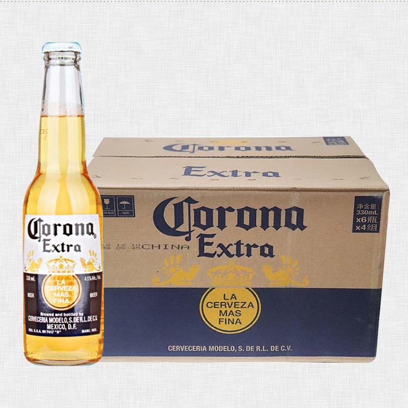 Corona NLSX bia Mexico Bia Bia Corona Bia 330ml * 24 chai sản xuất trong nước