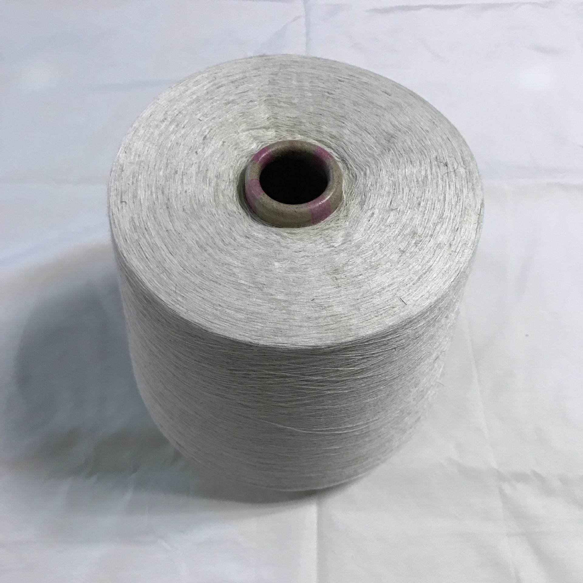 BENHUI Sợi gai Polyester và vải lanh pha trộn TL21s 85/15 Sợi lanh Sợi Ramie Sợi gai dầu thô Polyest