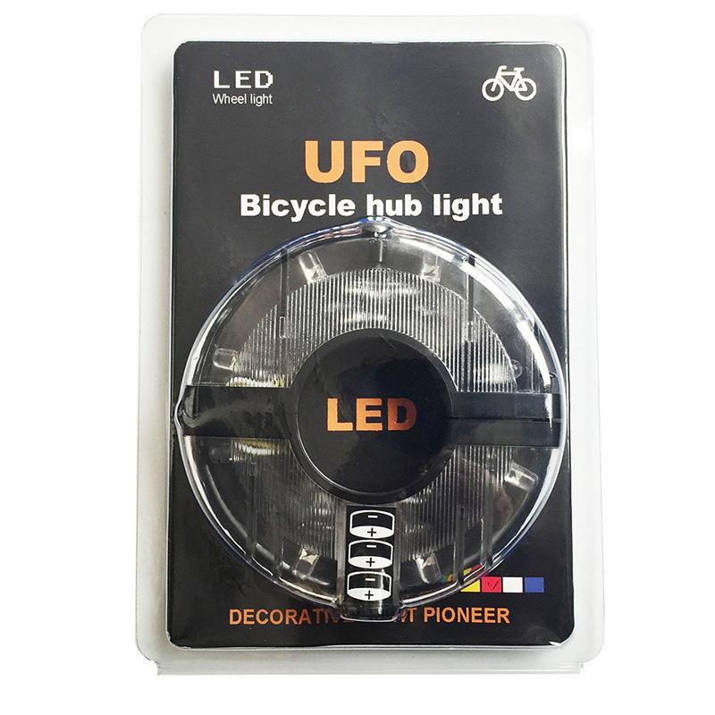 Xe một bánh tự cân bằng Đèn trung tâm xe đạp mới, đèn xe đạp leo núi nóng, đèn cảnh báo đầy màu sắc,