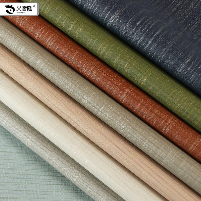 TANBANGLANG da Nhà máy bán buôn PU vải da dày như vải lanh mềm túi cứng túi da trang trí thân thiện