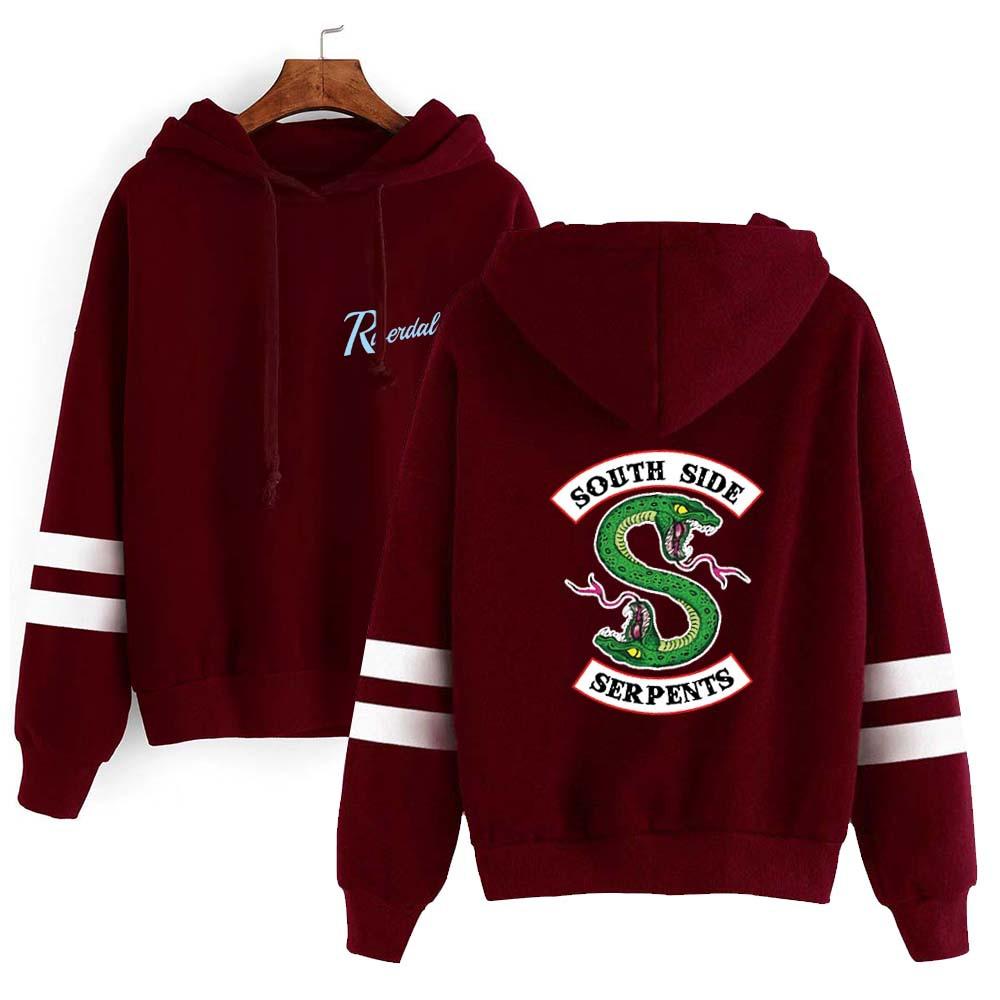 Sweater (Áo nỉ chui đầu) Áo len nhung mới cộng với áo choàng quanh thị trấn River Valley của Mỹ