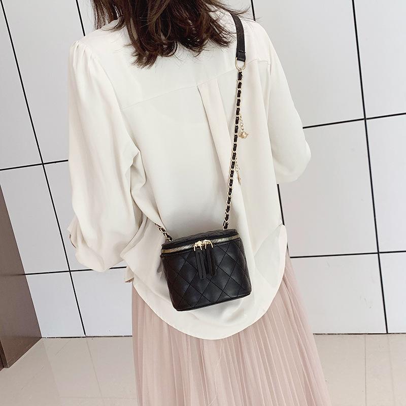 Túi xách nữ thời trang 2020 Túi xách nữ mới Túi đeo chéo mini Hàn Quốc Túi đeo chéo phổ biến Thời tr