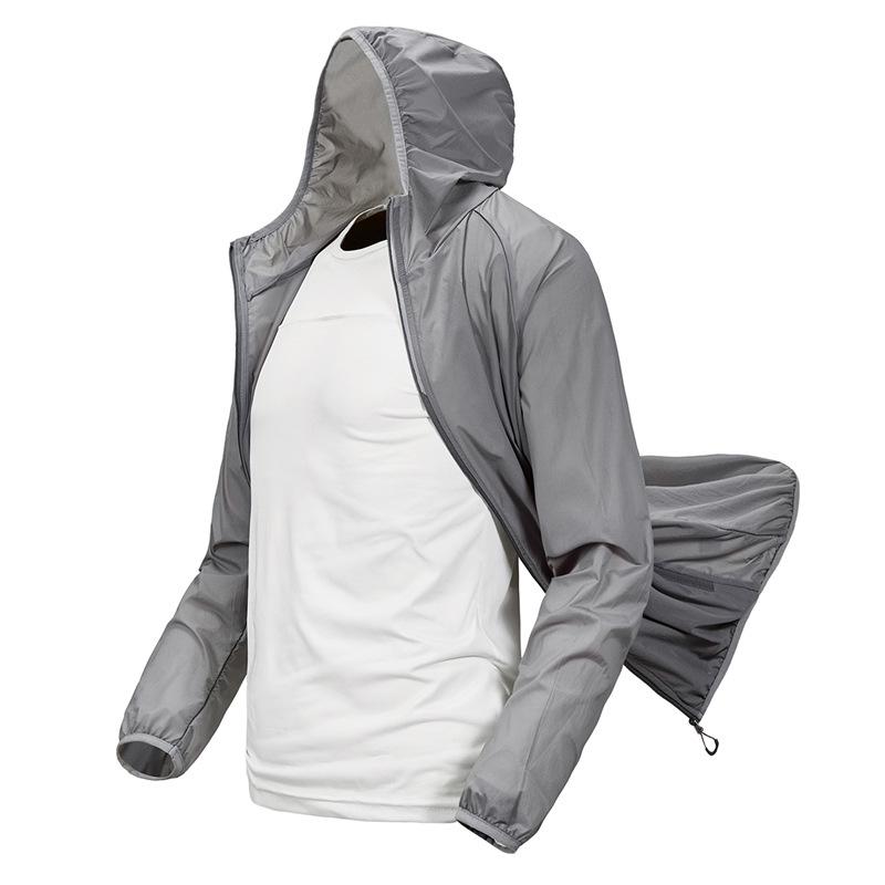 Đồ chống nắng mau khô Quần áo chống nắng Youyiku quần áo nam mùa hè mỏng và nhẹ thoáng khí quần áo n